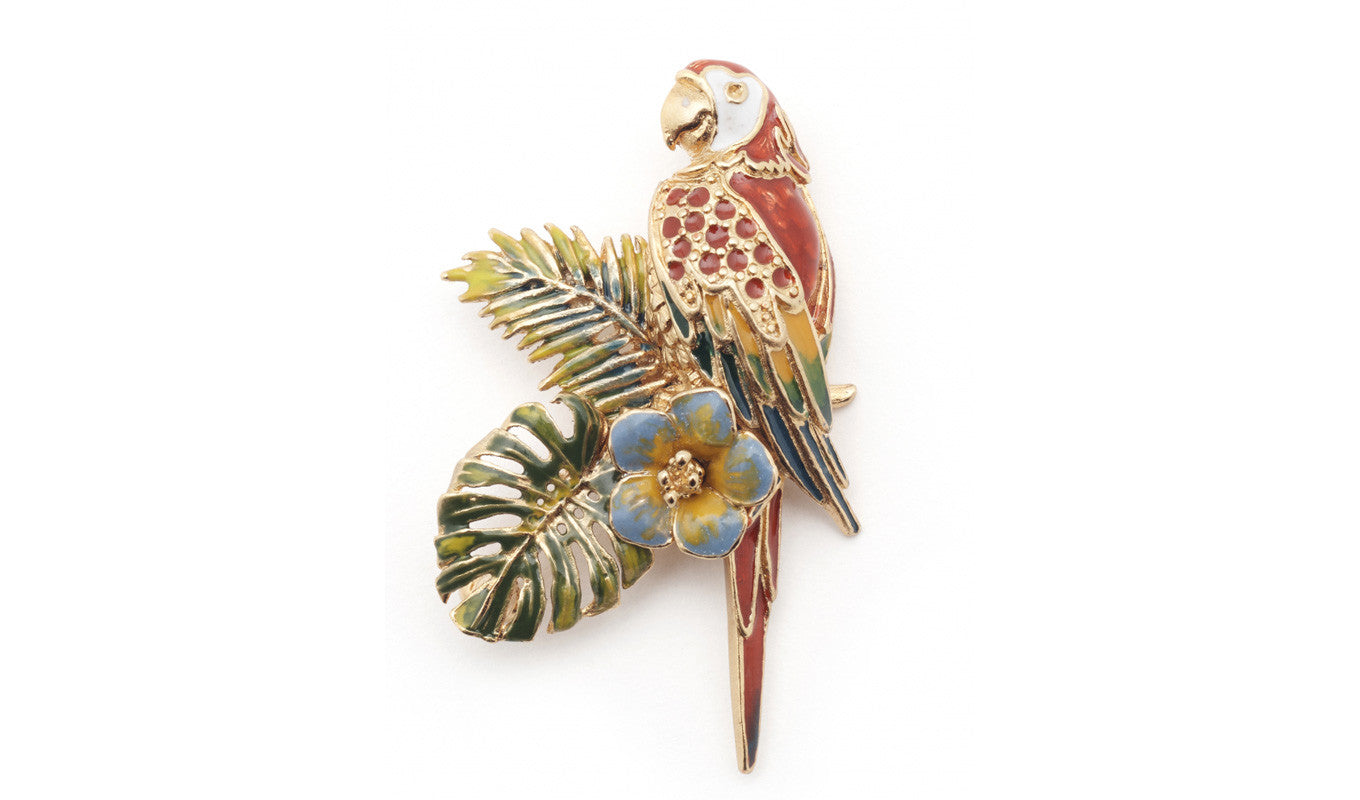 Bill Skinner Parrot Brooch