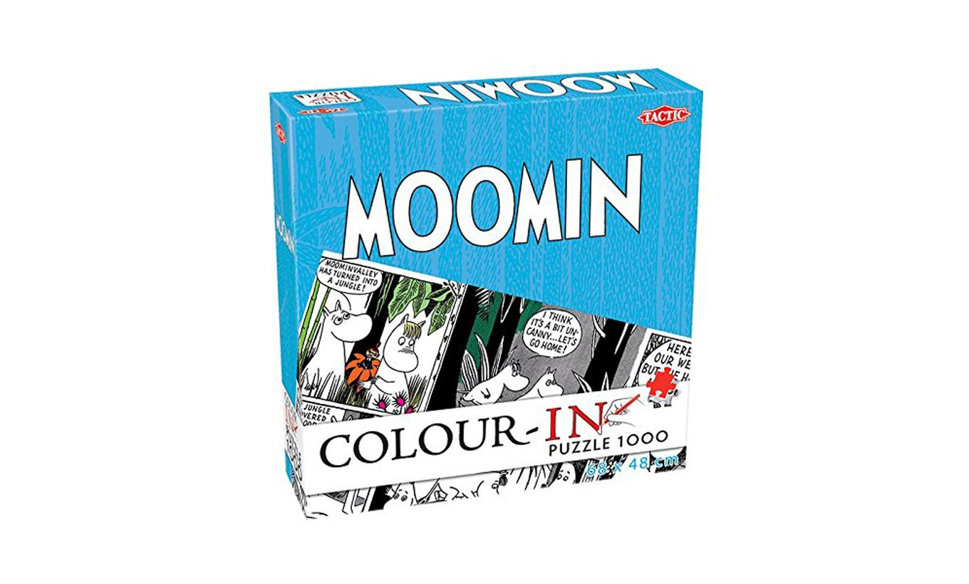 Moomin Colour-in Puzzle
