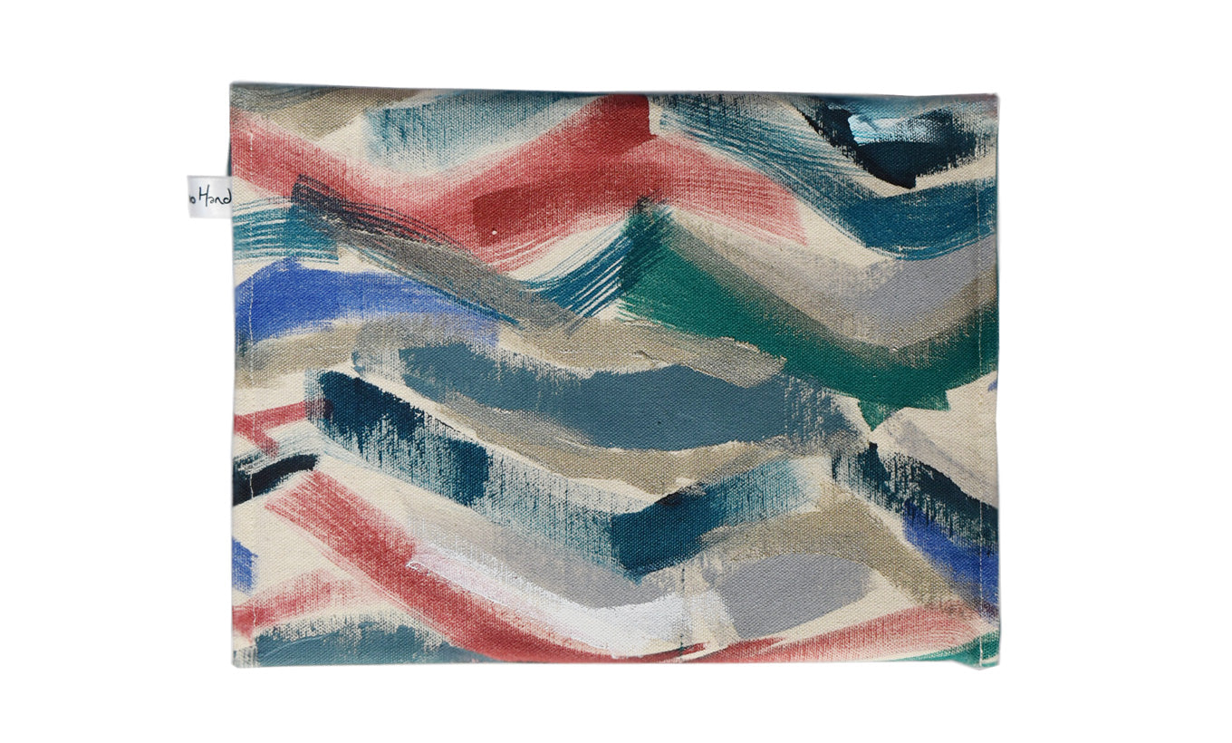 'Abstract Motion' Clutch Bag