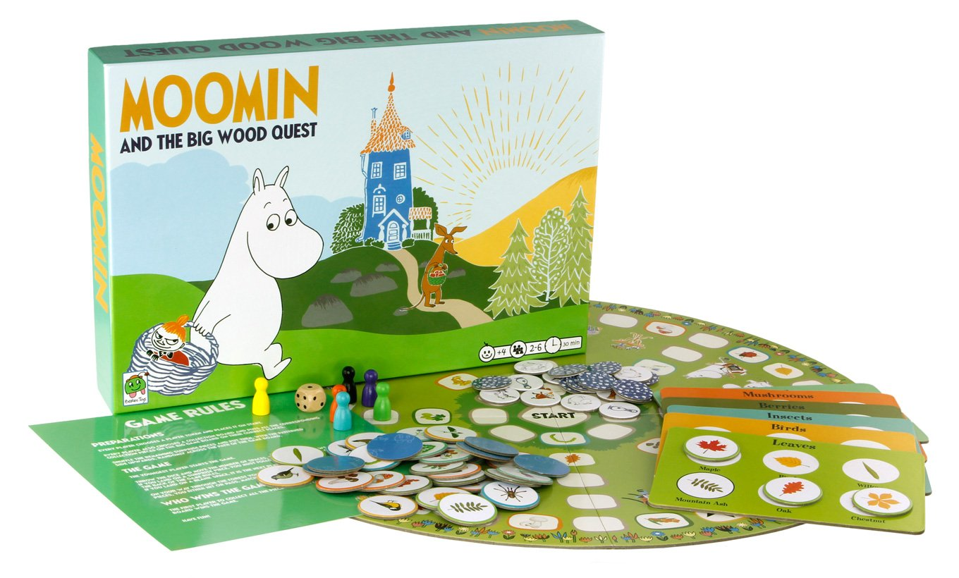 Moomin & the Big Wood Quest Game