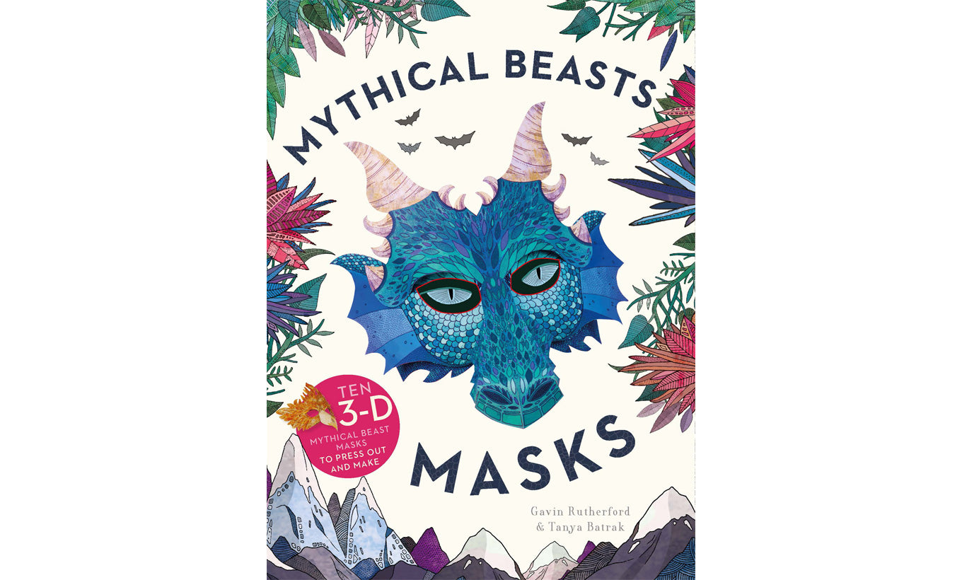 Mythical Beasts Masks Book