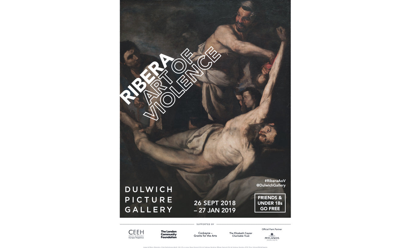 Ribera Exhibition Poster