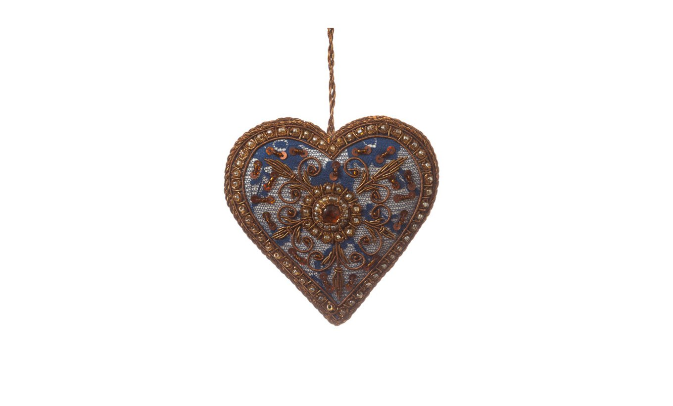 Ornate Heart Christmas Decoration