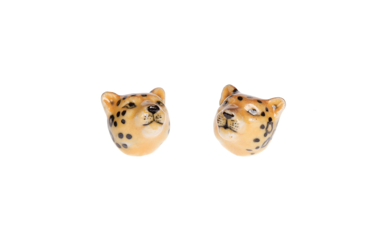 And Mary Leopard Studs