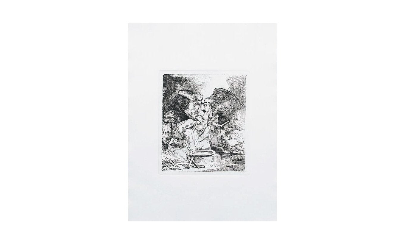 Special Ed. Reproduction Etching: Abraham's Sacrifice