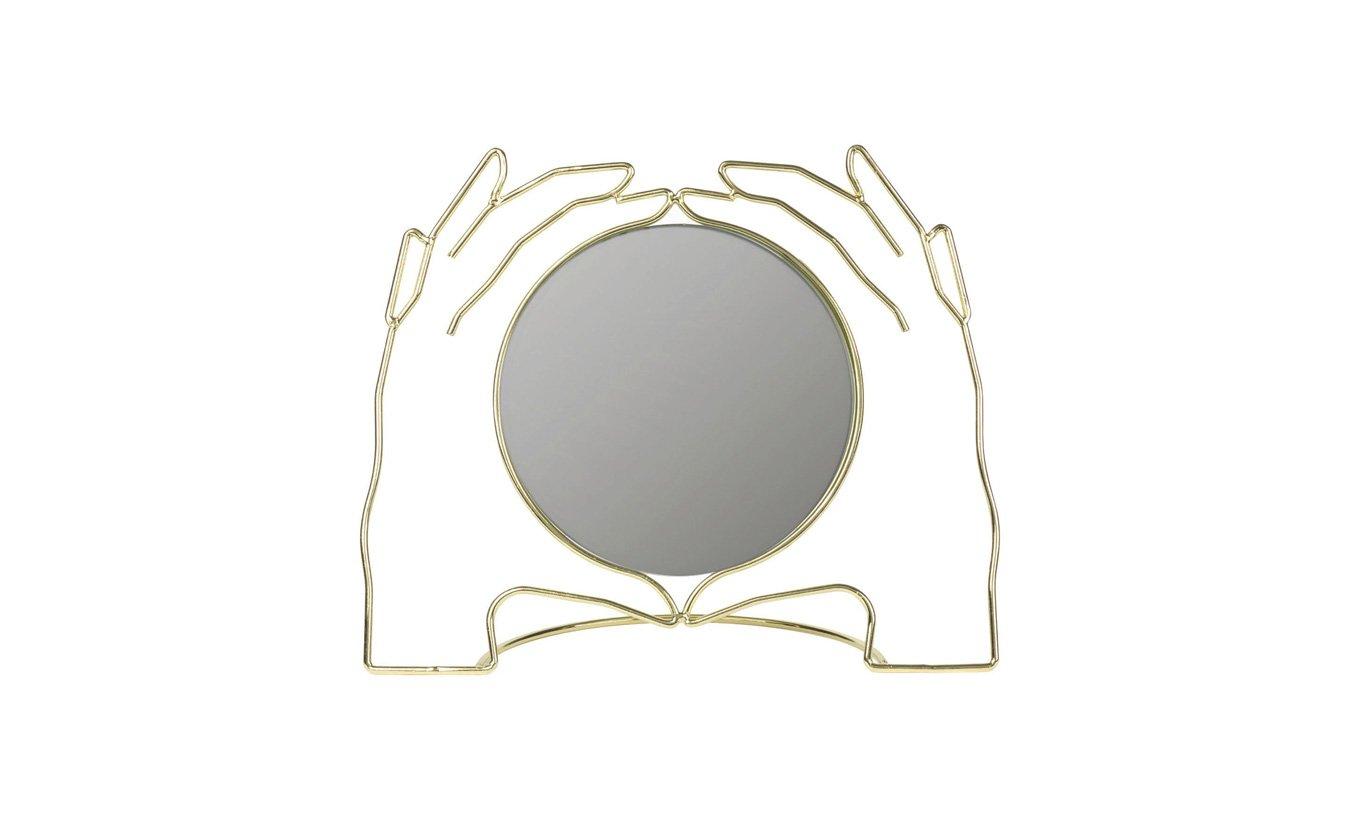 Hands Table Mirror