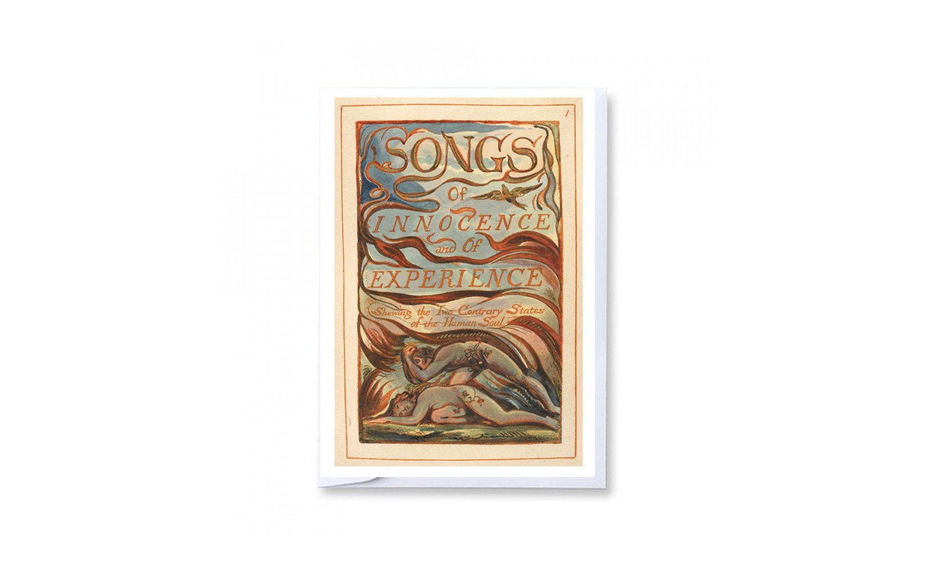 Songs of Innocence & of Experience Greetings Card