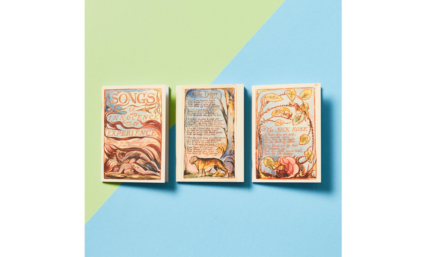 William Blake Notebook Set of 3