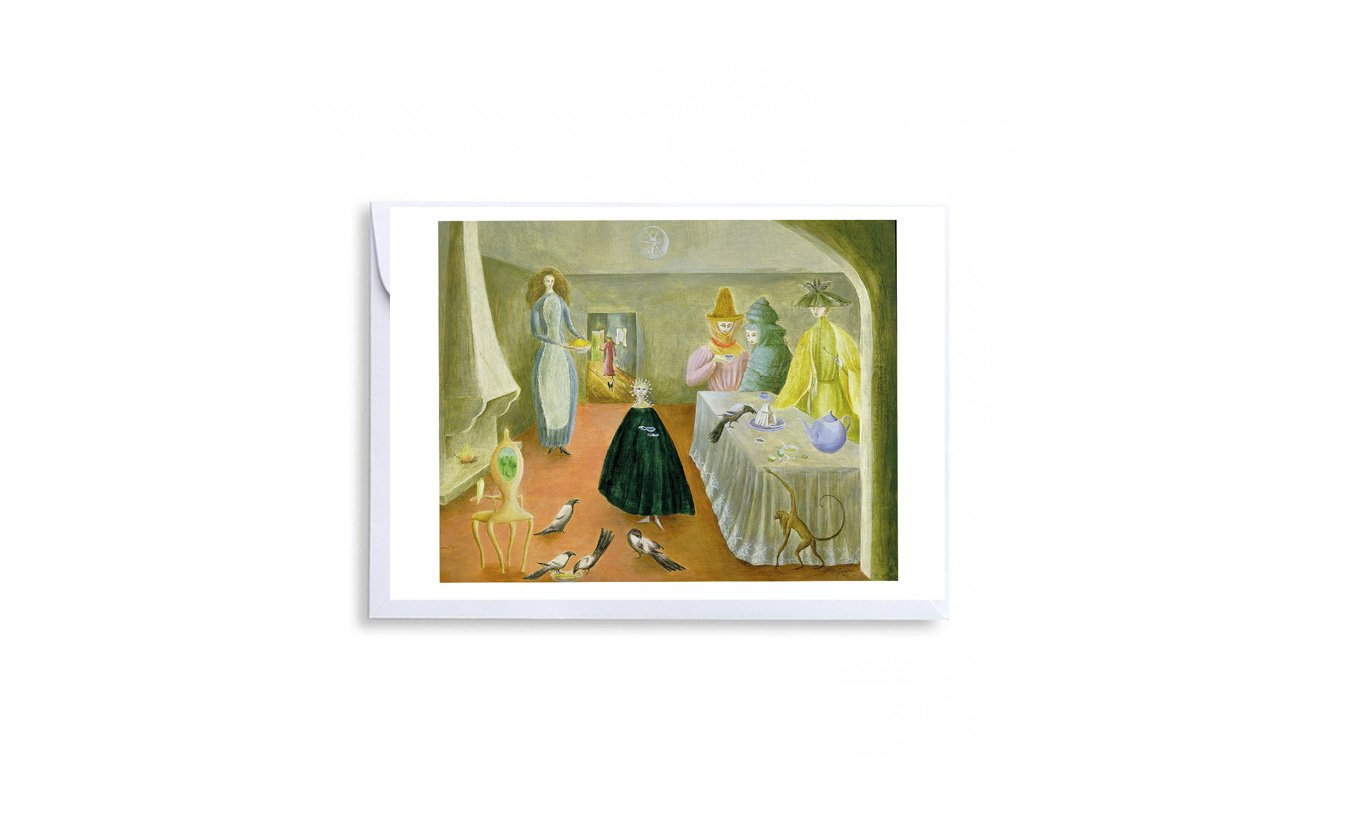 The Old Maids Greetings Card