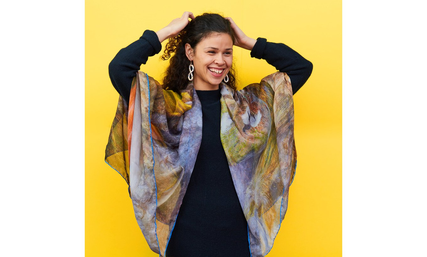 The Pomps of the Subsoil Silk Scarf