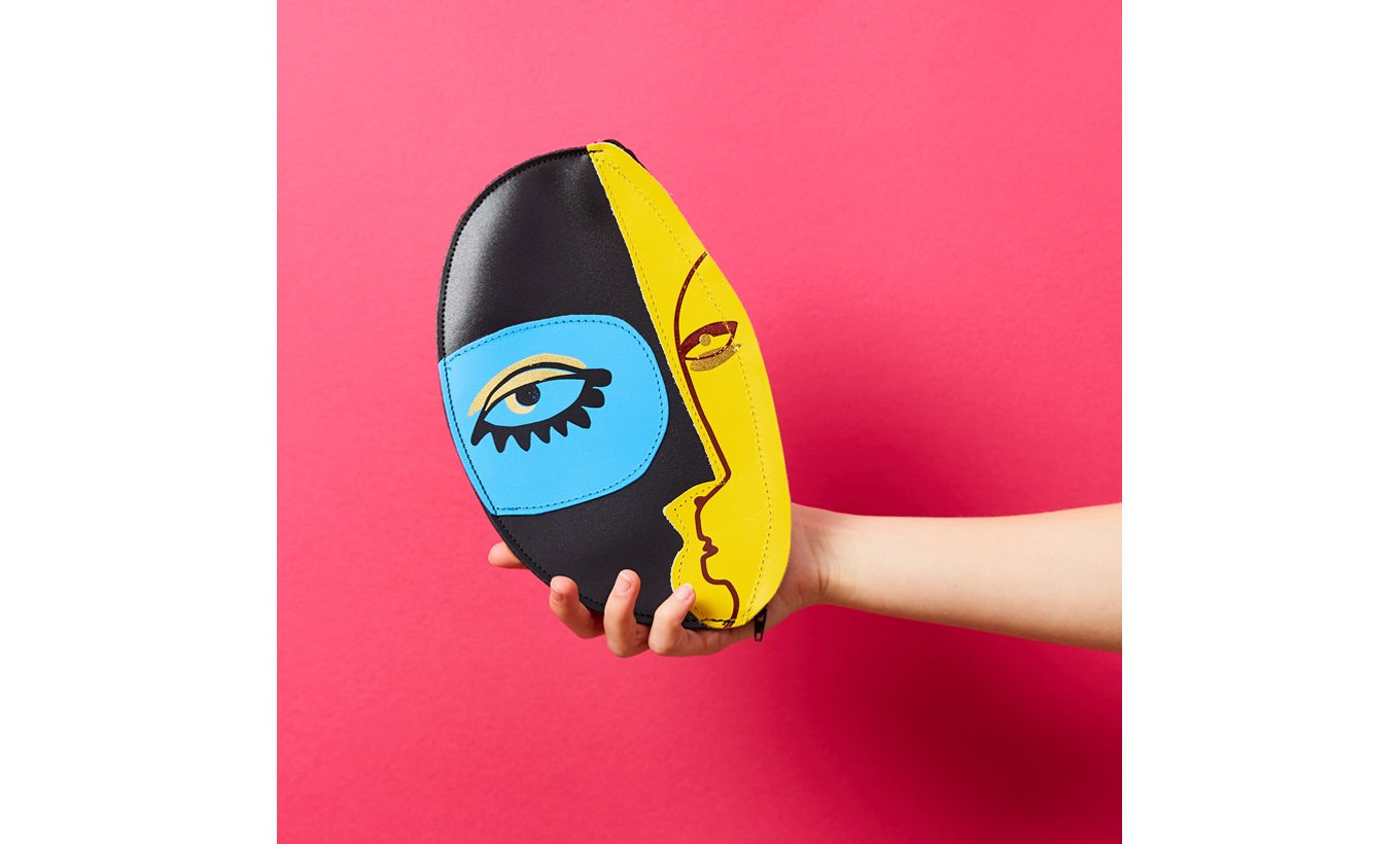 Abstract Face Clutch