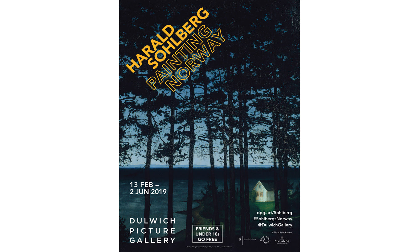 Harald Sohlberg Exhibition Poster