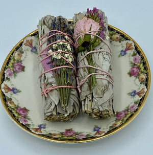 Sage and Lavender Floral Sticks