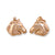 Ashley's Horse Earrings, 14k Gold