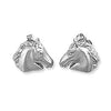 Ashley's Horse Earrings, Sterling Silver