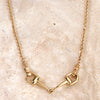 Ashley's Bit Necklace, 14k gold