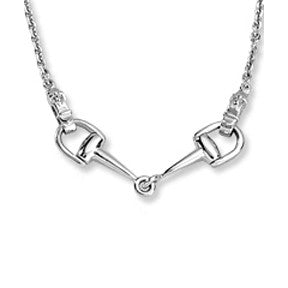 Ashley's Bit Necklace, Sterling Silver
