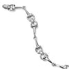 Ashley's Sterling Silver 4 Bit Bracelet