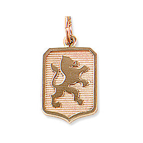 Dutch Warmblood Charm, 14k gold