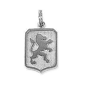 Dutch Warmblood Charm, Sterling Silver