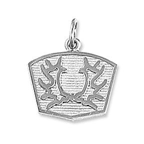 Trakehner Breed Charm, Sterling Silver