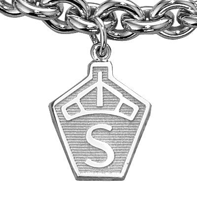 Swedish Breed Charm, Sterling Silver