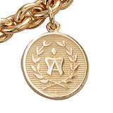American Warmblood Breed Charm, 14k gold