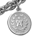 American Warmblood Breed Charm, Sterling Silver