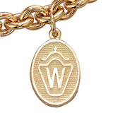 Westphalian Breed Charm, 14k gold