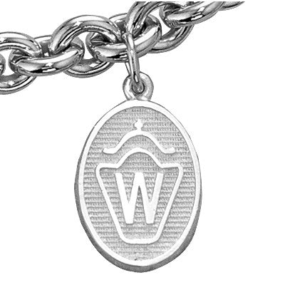 Westphalian Breed Charm, Sterling Silver