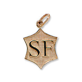 Selle Francais Breed Charm, 14k gold