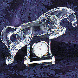 Baccarat Jumping Clock
