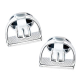 Stirrup Cuff Links, Sterling Silver