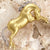 Cheval Stallion Pin, 18k Gold