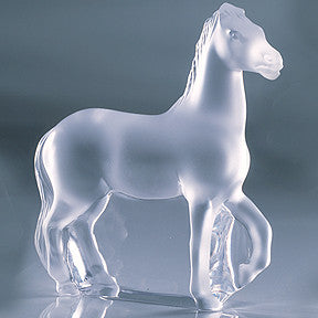 Lalique Horse Trotting