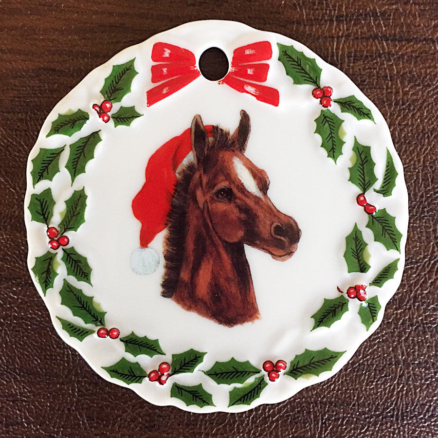 Foal Christmas Ornament