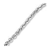 Diamond Cut Chain Necklace, 14k white gold