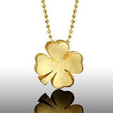 Little Luck Clover in 14k yellow gold
