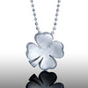 Little Luck 4 Leaf Clover Necklace, Sterling Silver
