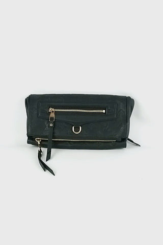 Black Monogram Empreinte Leather Petillante Clutch