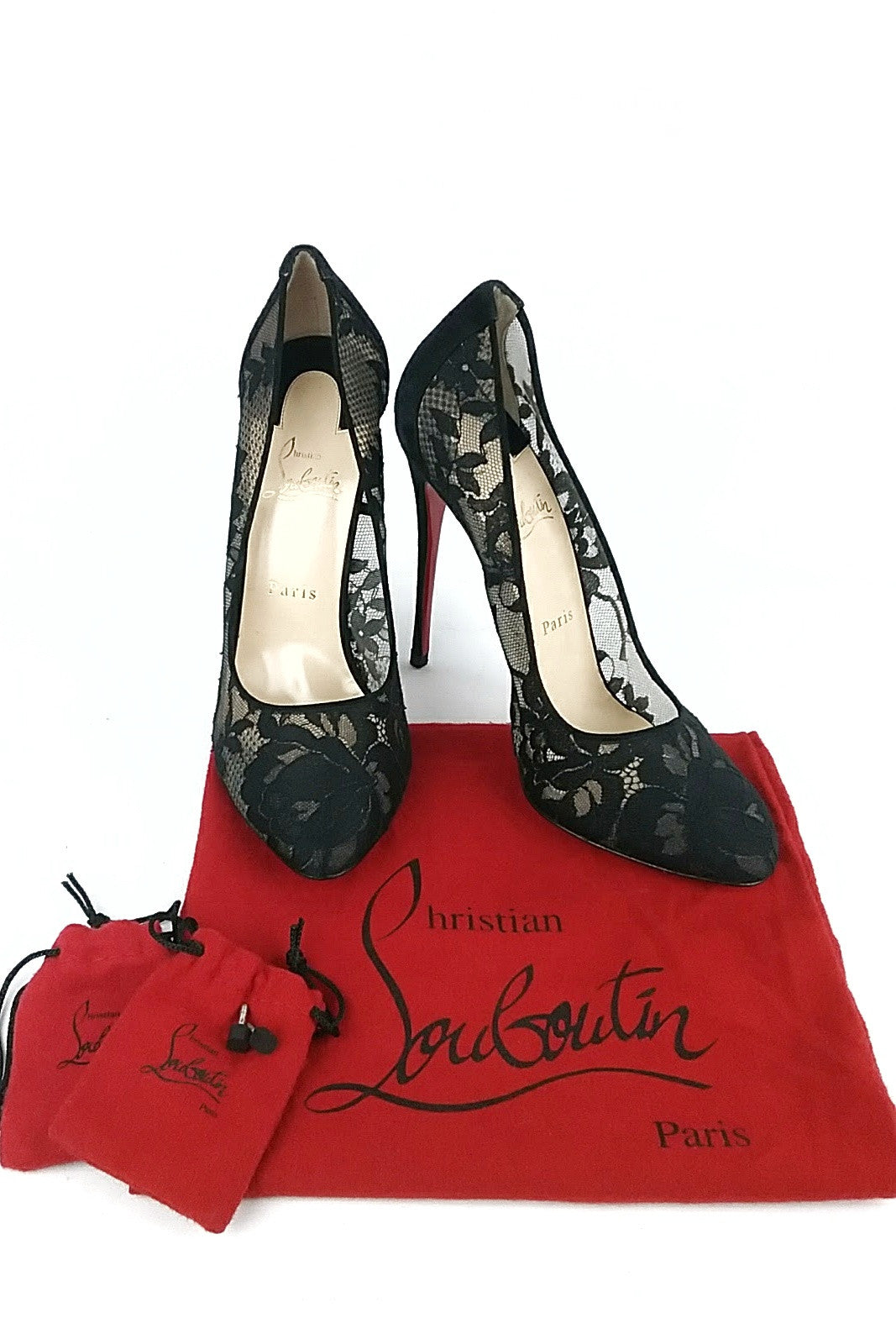 Lace Overlay Pumps