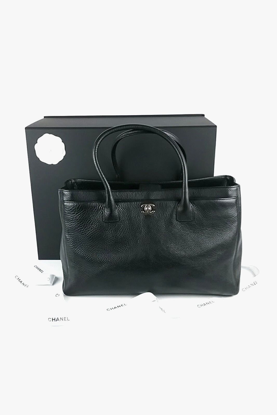 Black Cerf Large Executive Tote - ON LAYAWAY