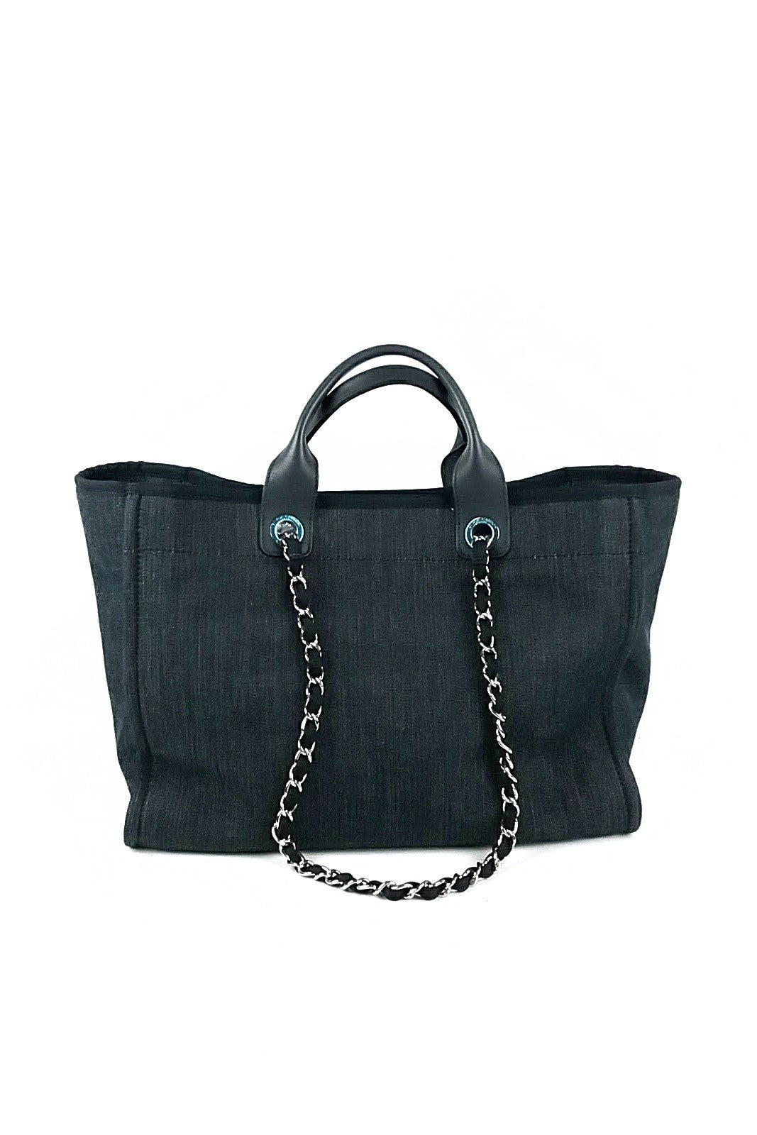 Dark Grey Large Deauville Tote