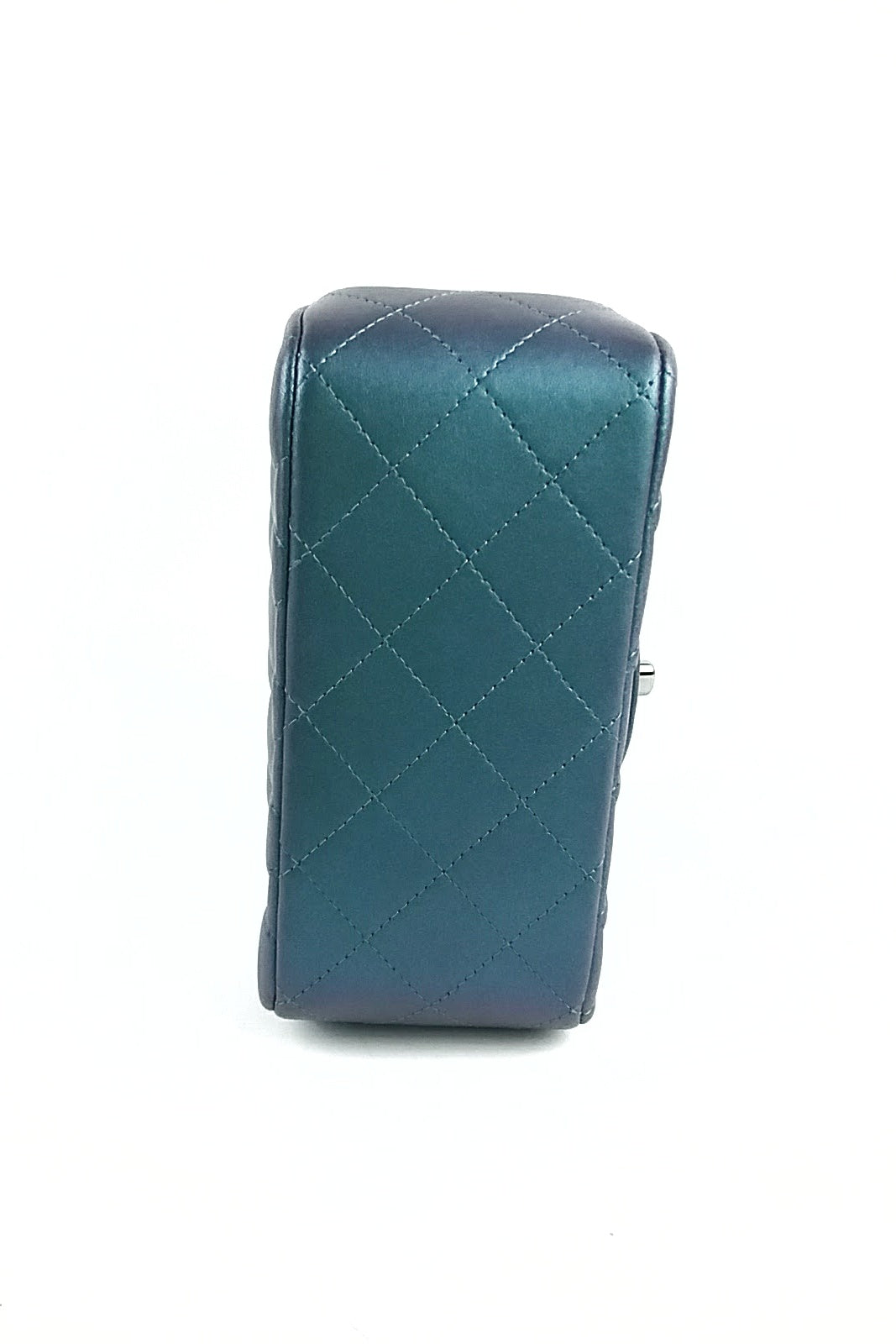 Iridescent Turquoise Square Mini Bag
