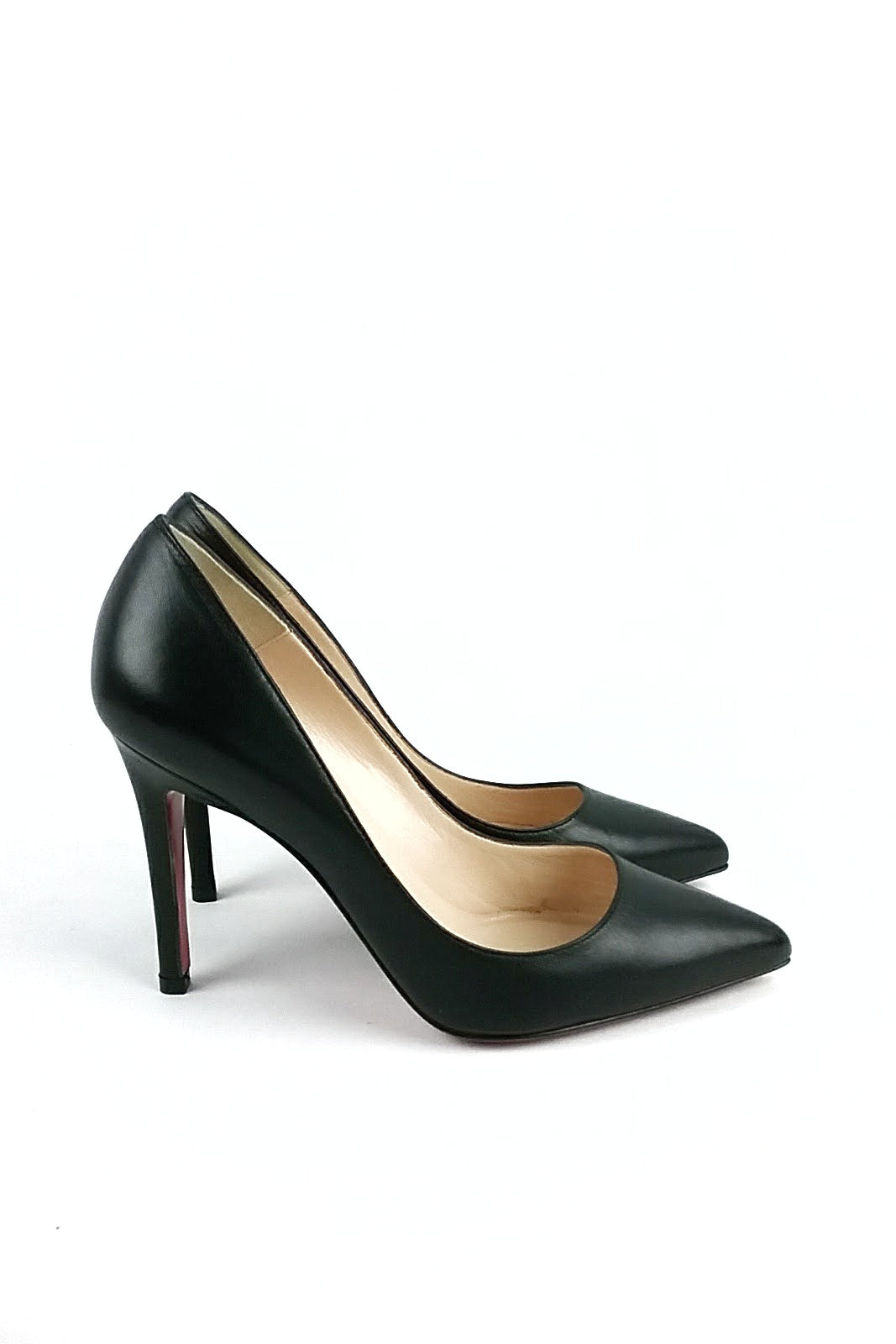 Black Pigalle Kid 100 Pumps