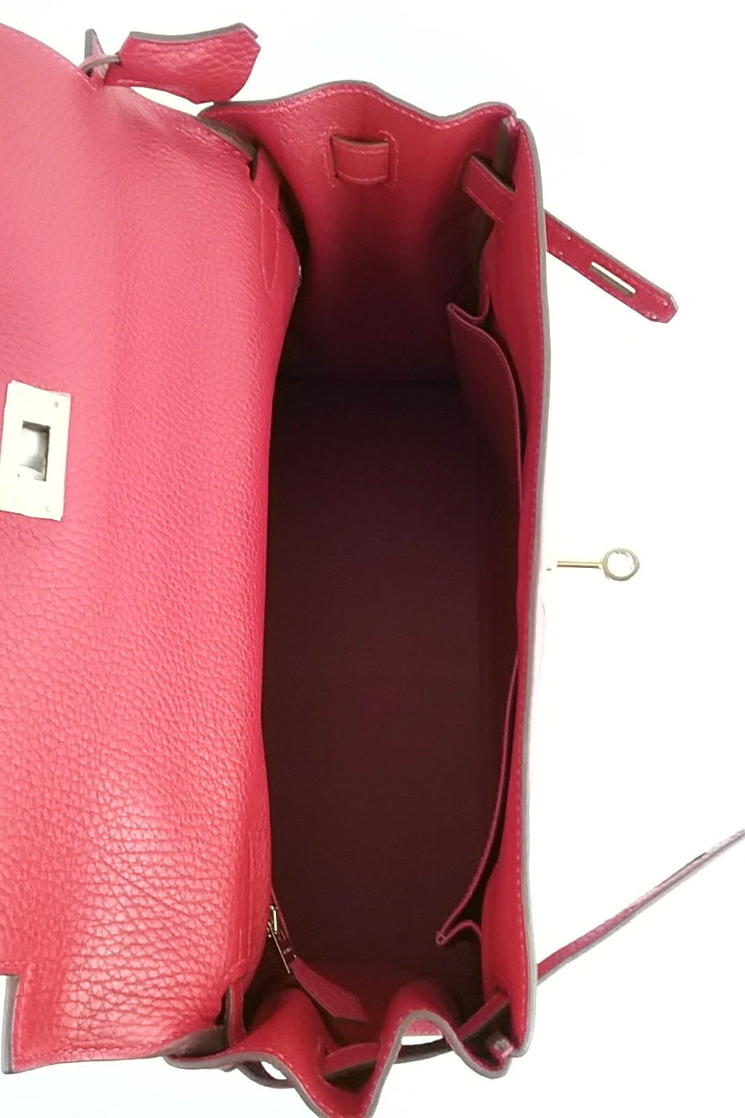Clemence Rouge Casaque Kelly 32 Bag GHW