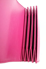 Fuschia Accordion Card Holder