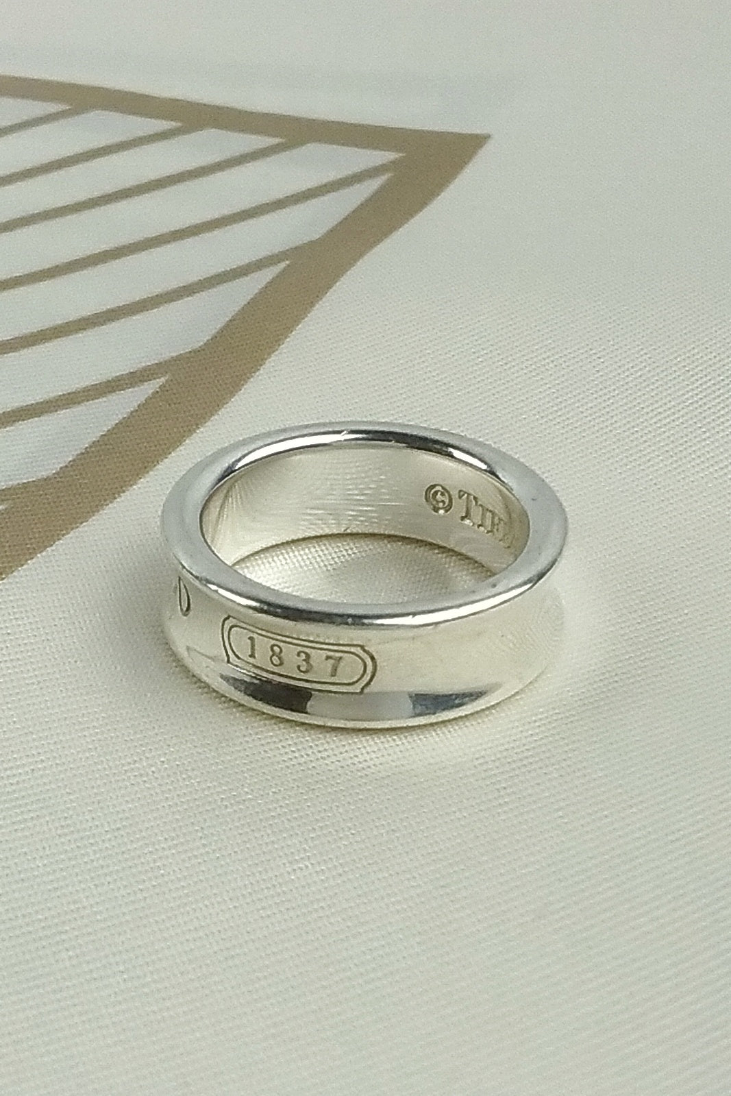 1837 TM Sterling Silver Ring
