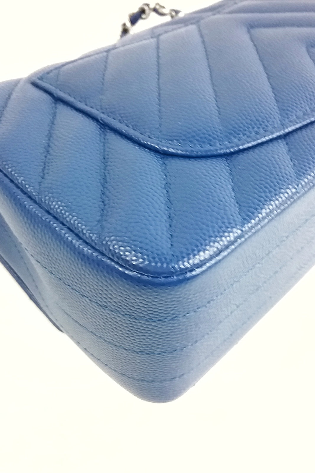 Blue Caviar Chevron Rectangle Mini SHW