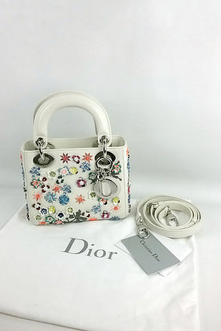 Off-white Limited Edition Mini Lady Dior Bag